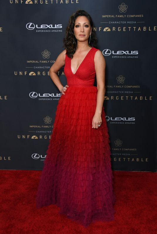 CHRISTINA CHANG at 18th Annual Unforgettable Gala in Beverly Hills 12/14/2019