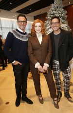 CHRISTINA HENDRICKS at Brooks Brothers Annual Holiday Celebration in West Hollywood 12/07/2019