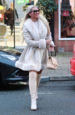 CHRISTINE MCGUINNES Leaves Hair Salon in Alderley Edge 12/18/2019