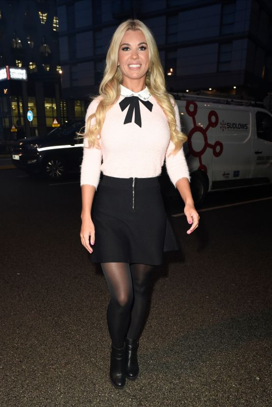 CHRISTINE MCGUINNESS Arrives at Breakfast Studios in Manchester 12/20/2019