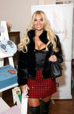CHRISTINE MCGUINNESS at Celebrity Pamper Gifting Day at Hutton Hall 12/13/2019
