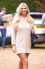 CHRISTINE MCGUINNESS Leaves a Photoshoot in Essex 12/12/2019