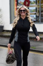CHRISTINE MCGUINNESS Out and About in London 12/11/2019