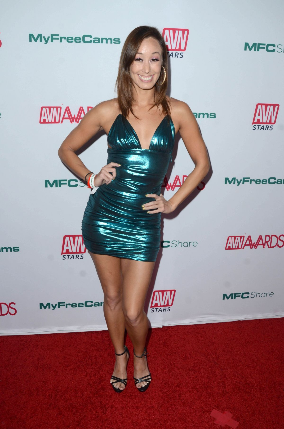 Cali Carter - AVN Awards 2016 in Las Vegas   GotCeleb