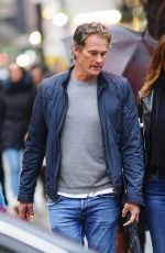 CINDY CRAWFORD and Rande Gerber Out in New York 12/14/2019