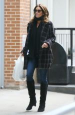 CINDY CRAWFORD Out and About in New York 12/27/2019