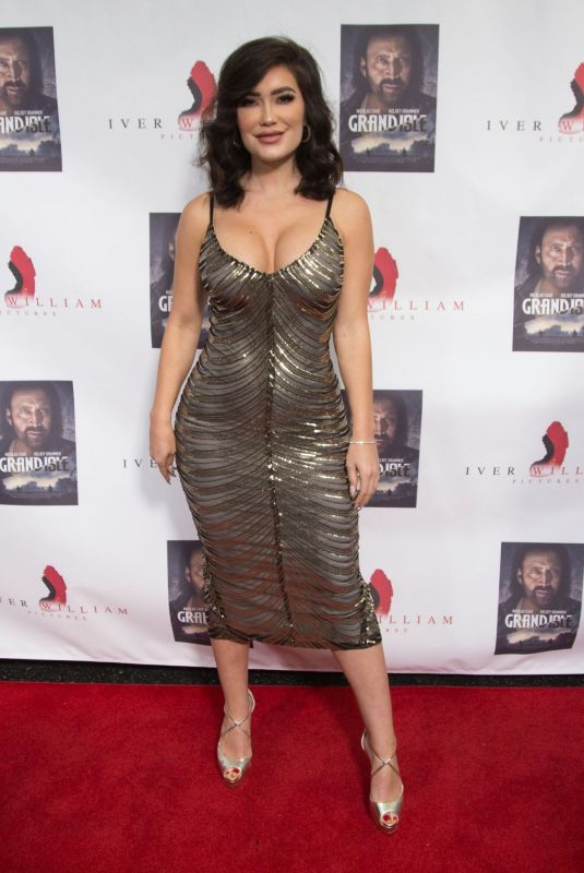 CJ SPARXX at Grand Isle Premiere in Hollywood 12/08/2019