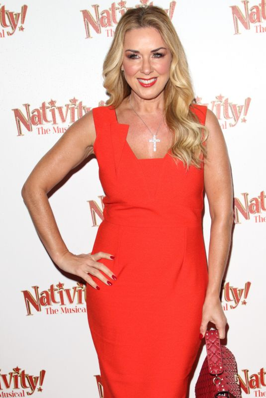 CLAIRE SWEENEY at Nativity! The Musical Press Night Performance in London 12/12/2019