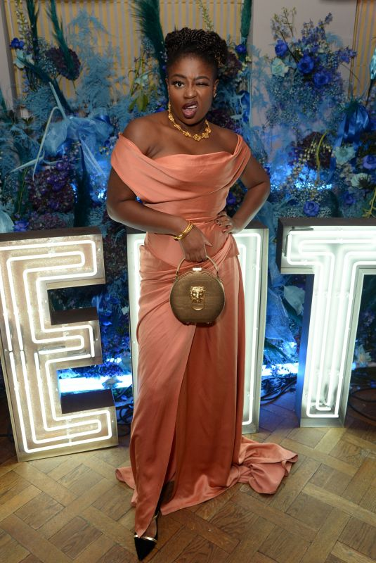 CLARA AMFO at Fenty Party at Laylow Club in London 12/02/2019