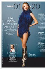 COSIMA AUERMANN in Glamour Magazine, Germany January 2020