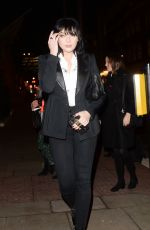DAISY LOWE Arrives at Tanqueray No Ten Gin Launch in London 12/05/2019