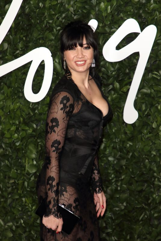 DAISY LOWE at Fashion Awards 2019 in London 12/02/2019