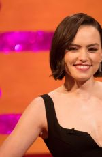 DAISY RIDLEY at Graham Norton Show in London 12/19/2019