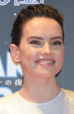 DAISY RIDLEY at Star Wars: The Rise of Skywalker Special Fan Event in Tokyo 12/11/2019