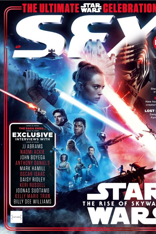 DAISY RIDLEY in Sfx Magazine, Holiday 2019 Special