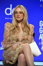 DAKOTA FANNING at 77th Annual Golden Globe Awards Nominations Announcement in Beverly Hills 12/09/2019