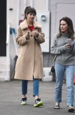 DAKOTA JOHNSON and ADDISON TIMLIN Leaves Nail Salon in Los Angeles 12/03/2019