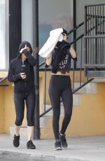 DAKOTA JOHNSON Leaves a Gym in Los Angeles 12/06/2019