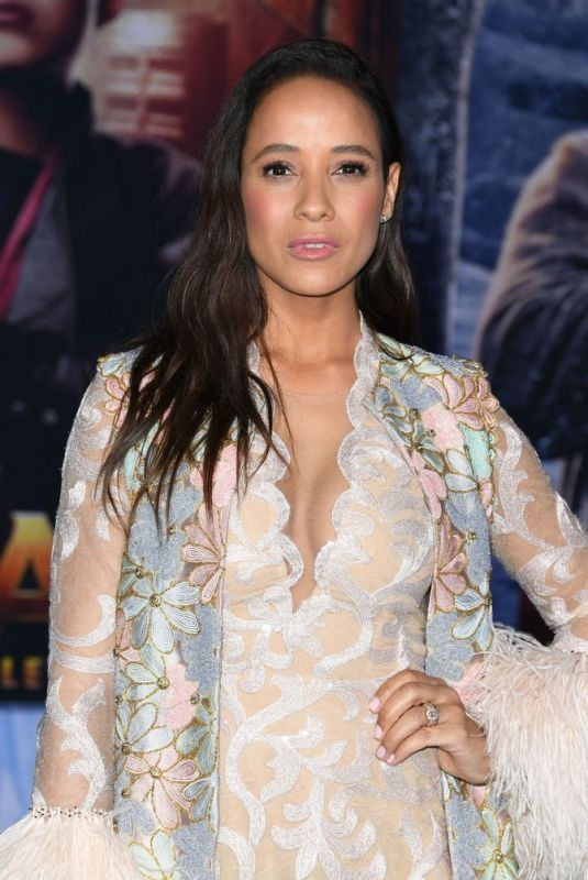 DANIA RAMIREZ at Jumanji: The Next Level Premiere in Hollywood 12/09/2019
