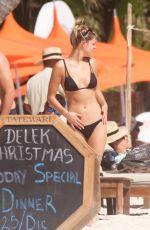 DANIELLE KNUDSON in Bikini at a Beach in Tulum 12/25/2019