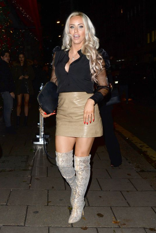 DANIELLE MASON at Novikov Restaurant and Bar in London 12/06/2019