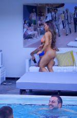 DAPHNE JOY in Bikini at a Pool in Miami 12/09/2019