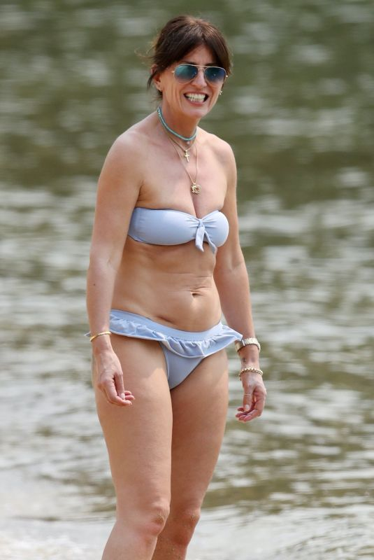 DAVINA MCCALL in Bikini at a Beach in Australia, December 2019