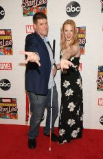 DEBORAH ANN WOLL at Marvel Celebrates Stan Lee in New york 12/12/2019