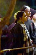 DEMI LOVATO and Austin Wilson Out at Disneyland 12/14/2019