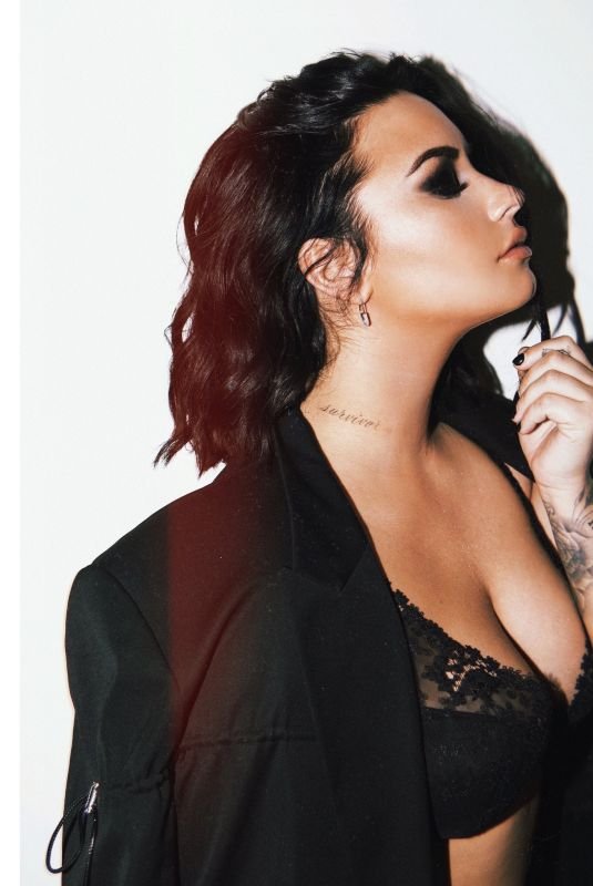 DEMI LOVATO at a Photoshoot, December 2019