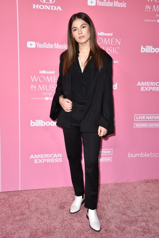 DESTINY ROGERS at Billboard Women in Music 2019 in Los Angeles 12/12/2019