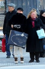 DIANE KRUGER Out for Christmas Shopping in New York 12/19/2019