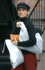 DIANE KRUGER Out in New York 12/27/2019
