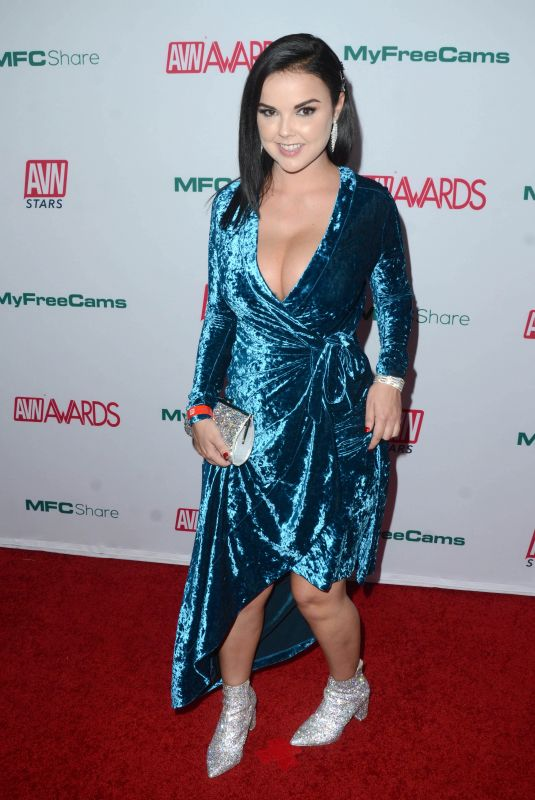 DILLION HARPER at AVN Awards Nominations Announcement in Hollywood 11/21/2019
