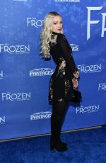 DOVE CAMERON at Frozen Broadway Musical Premiere in Hollywood 12/06/2019