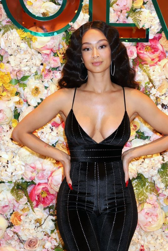 DRAYA MICHELE at Her Clothing Launch in Las Vegas 12/14/2019