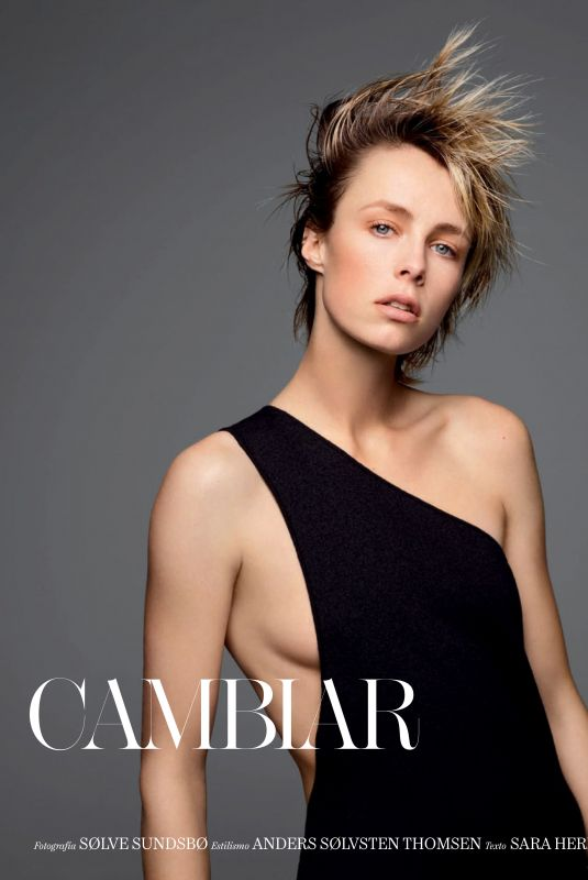EDIE CAMPBELL for Vogue Magazine, Spain January 2020