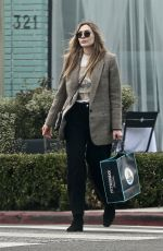 ELIZABETH OLSEN Out and About in Beverly Hills 12/22/2019