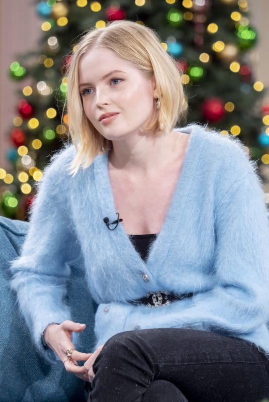 ELLIE BAMBER at This Morning TV Show in London 12/19/2019