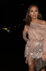 ELMA PAZAR Leaves Tape Night Club in London 12/14/2019