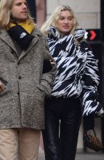 ELSA HOSK and Tom Daly Out in Teaneck 12/26/2019