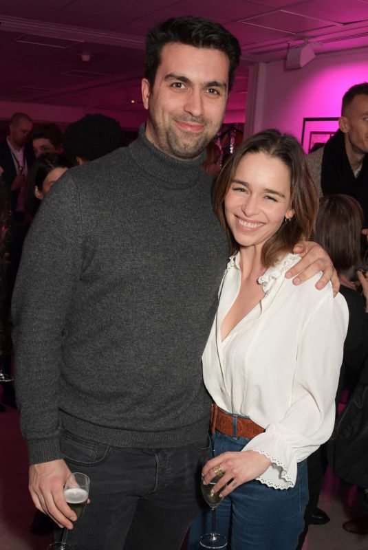 EMILIA CLARKE at The Donmar's Teenage Dick Press Night Party in London 12/12/2019