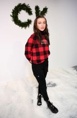 EMMA CHAMBERLAIN at Calvin Llein Pajama Party in New York 12/11/2019
