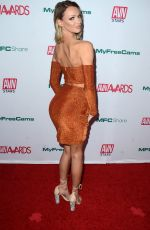 EMMA HIX at AVN Awards Nominations Announcement in Hollywood 11/21/2019