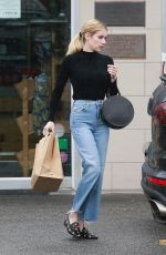 EMMA ROBERTS Out and About in Los Angeles 12/08/2019