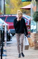 EMMA ROBERTS Out Shopping in Studio City 12/11/2019