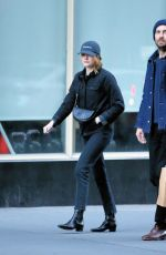 EMMA STONE and Dave McCary Out and About in New York 11/30/2019