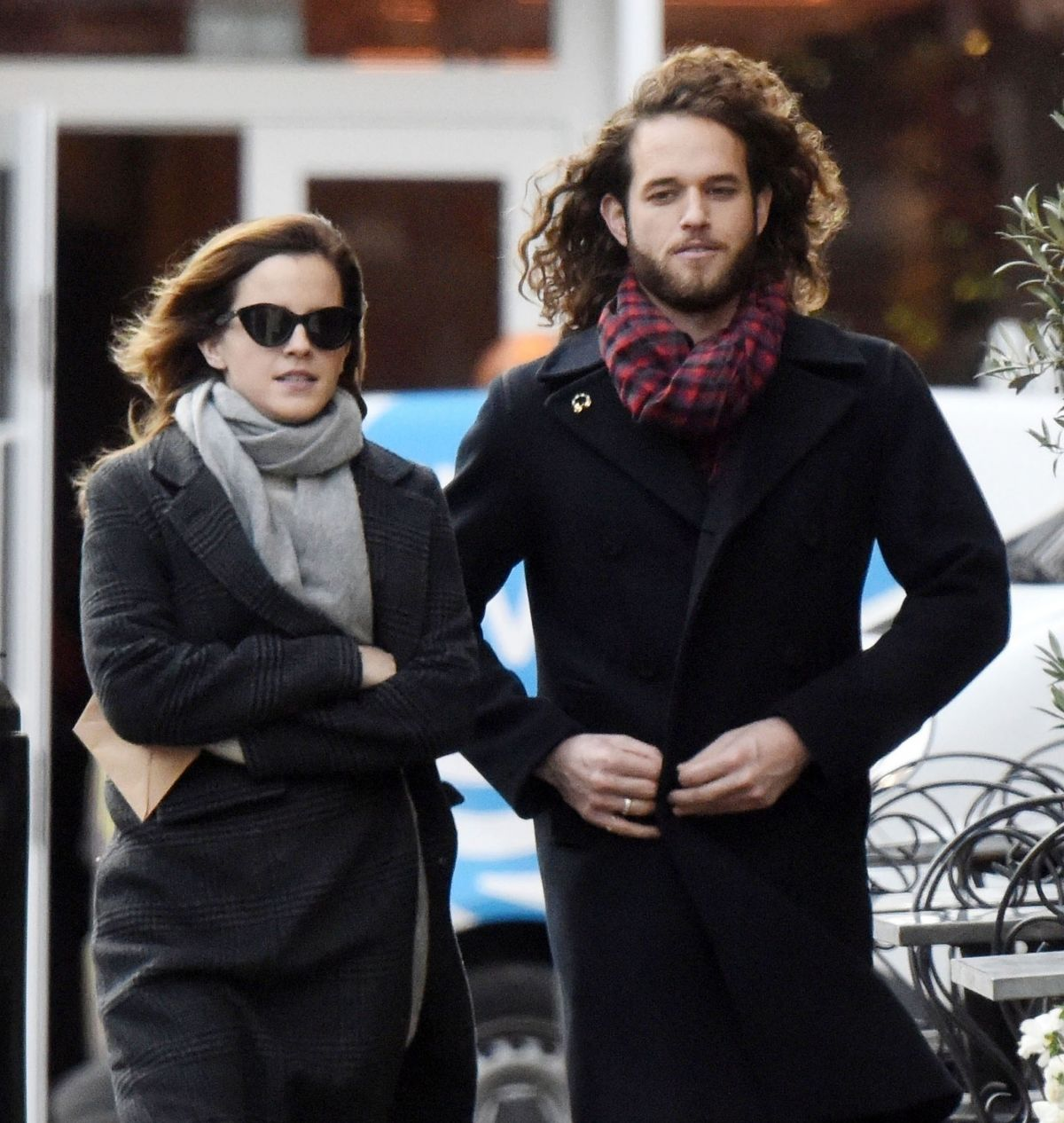 Emma Watson Out With Her Boyfriend In London 12 18 2019 Hawtcelebs