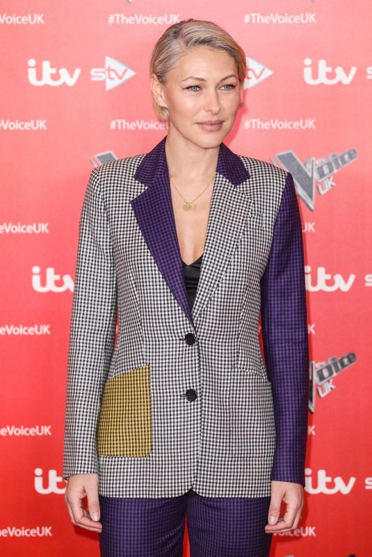EMMA WILLIS at The Voice Photocall in London 12/16/2019