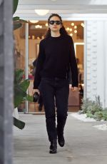EMMY ROSSUM Out Shopping in Beverly Hills 12/14/2019